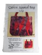 Embellishment Village Pattern Curve Appeal Bag Size Large