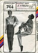 Stretch & Sew Pattern 744 ~ Women's Comfort Pant