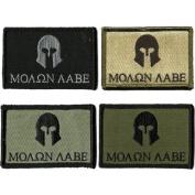 Molon Labe Tactical Patches