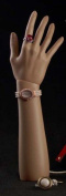 Brand New Free Standing Realistic Female Mannequin Right Hand Jewellery Display Flesh Tone