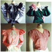 1890's Victorian or Western Waist Blouse Pattern