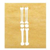 Skeleton Arms DIY Iron-on Applique