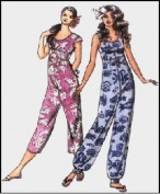 Hawaiian Jumpsuit / Playsuit Sewing Pattern #306