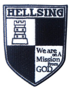 Hellsing Logo Crest Patch