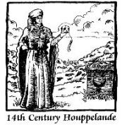 Men's Mediaeval Houppeland & Liripipe Pattern