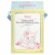 Chronicle Books-Baby Bib Embroidery Kit
