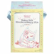 Chronicle Books-Baby Bib Embroidery Kit