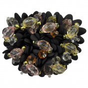 Beaded Brooche BW-101-09 Beaded Brooch with Pin