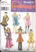 Simplicity Sewing Pattern #3614 : Costumes for Kids