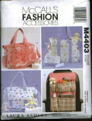McCall's Patterns M4403 Nappy Bags and Car Organiser, One Size Only