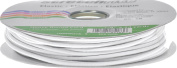 Stretchrite 0.3cm by 24-Yard White Heavy Round Cord Elastic Reel
