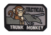"Mil-Spec Monkey ""Tactical Trunk Monkey hook and loop Patch - SWAT"
