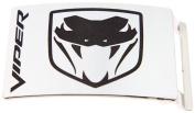 Dodge Viper Logo Silver Colour Brushed Metal Official Licenced Belt Buckle