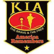 KIA America Remembers Black Shield Patch