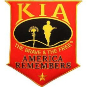 KIA America Remembers Red Shield Patch