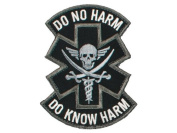 "Mil-Spec Monkey ""Do No Harm - Pirate hook and loop Patch - SWAT"