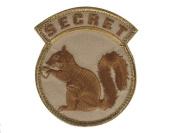 "Mil-Spec Monkey ""Secret Squirrel hook and loop Patch - Desert"