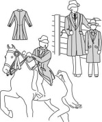 Suitability 5172 Womens & Childrens Saddle Suit Coat Equestrian Sewing Pattern