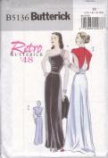 Butterick B5136 Retro '48 Dress Sizes EE