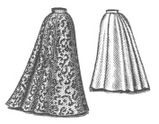 1898 Walking Skirt Pattern