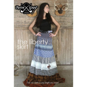 The Liberty Skirt Amy Butler Sewing Pattern Make your own Skirt any Length