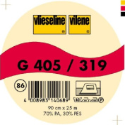 Vilene Iron-on nonwoven interfacing G 405 charcoal-coloured; width 35.10 inch/90cm, price per metre