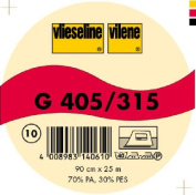 Vilene Iron-on nonwoven interfacing G 405 white-coloured; width 35.10 inch/90cm, price per metre