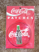 Coca Cola Patch - Round Red Coca Cola sign