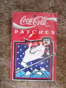 Coca Cola Patch Skiing Polar Bear