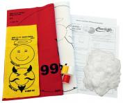 Haan Crafts Angel/Devil Pillow Beginner/Kids Sewing Kit