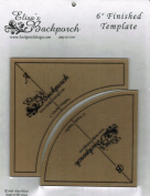 Elisa's Backporch 15cm Quick Curves Template