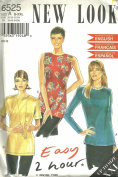 Blouse New Look Sewing Pattern 6525 (Size A