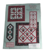 Jo-Lydia's Attic Quilt Pattern Poinsettia Baskets Size One