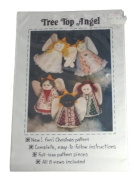 Patch Press Soft Sculpture Doll Pattern Tree Top Angel