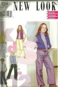 Girls Pants & Vest (New Look 6124, Size