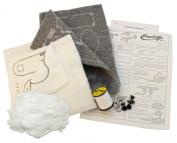Haan Crafts Toy Huggum Bunnies Stuffed Animal Beginner/Kids Sewing Kit