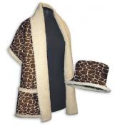 Daisy Kingdom Easy Cut and Sew Sherpa Style Kit, Giraffe