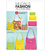 McCall's Patterns M6130 Shopping Bag In 3 Sizes, One Size Only