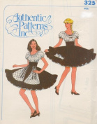 Authentic Patterns #325 - Ladies' Square Dance Dress Pattern
