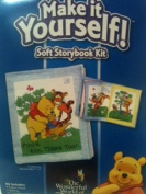 The Wonderful World Of Disney Pooh & Friends Make It Yourself! Soft Storybook Kit..Pooh, Roo, Tiger Too!