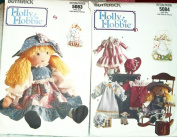 Butterick Holly Hobbie Doll and Clothes Sewing Pattern #5083