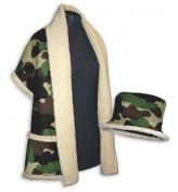 Daisy Kingdom Easy Cut and Sew Sherpa Style Kit, Camo