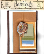 Bareroots Fabric & Floss Kit for Little Stitchies In the Woods Candle Mat