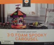 Decorate-your-own 3d Foam Spooky Carousel