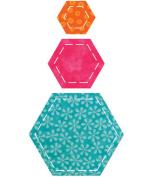 AccuQuilt GO! Fabric Cutting Dies; Hexagons