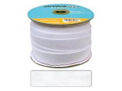 Stretchrite 1 by 25-Yard White Knit Polyester Elastic Spool