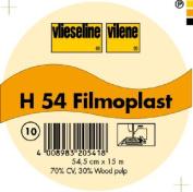 Vilene Filmoplast H 54 - Self adhesive Embroidery Stabilise; width 21.25 inch/54,5cm, price per metre