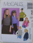 Mccalls Pattern 3741 Girls Jackets and Vests