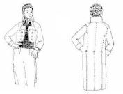 1790 - 1820 Frockcoat Pattern