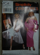 Simplicity Costumes Pattern 0668/8393 Marilyn Monroe Dress Sz. N, 10/12/14